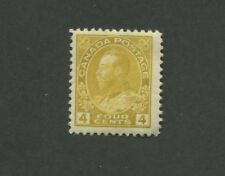 1922 Canada King George V 4c Mint NH Postage Stamp #110 Catalogue Value $120
