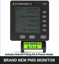 BRAND NEW! PM5 Monitor & Fitting Kit For Concept 2 Rowing Machines Mod C&D