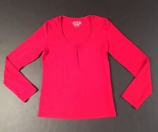 Women's Red Long Sleeve Blouse by Esprit - Size Large