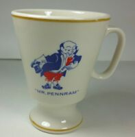Vintage Mr Pennram Coffee Tea Mug Cup 1970s Advertising USA R-26 Rare
