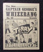 1970 Captain George's WHIZZBANG Fanzine #11 VG+ 4.5 Terry & The Pirates Caniff