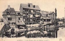 """RENNES 4 vieille maison dite """"le château branlant"""" écrite 1910"""