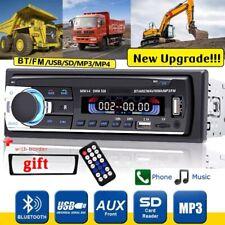 1 Din Autoradio RADIO USB Bluetooth FM Aux-In MP3-Player + FERNBEDIENUNG +Rahmen