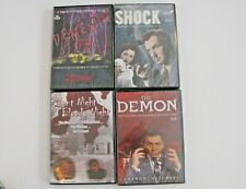 Lot of 4 Horror DVDs Dementia 13, Shock, The Demon, Silent Night Bloody Night