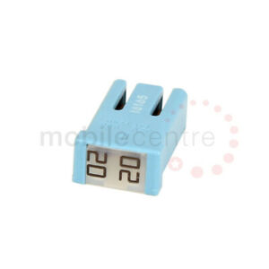 20 Amp blue MCASE+ slotted plug in 20A cartridge fuse Ford 5559031