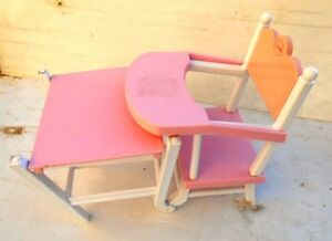 Chaise haute enfant jouet COROLLE High chair child toy COROLLE new condition