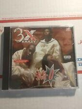 3X Krazy Sick-O EP CD NEW Seagram Bay Area Rap Father Dom Hip-Hop Keak Da Sneak