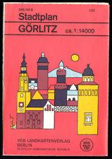 Stadtplan Görlitz, 1973