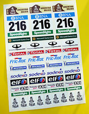 RC DAKAR 2016 Rock Crawler Stickers Decals Tamiya DF-01