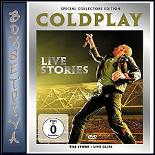 COLDPLAY - LIVE STORIES & MUSIC DOCUMENTARY  ***BRAND NEW DVD***