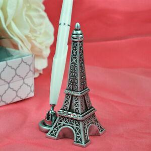 Eiffel Tower Design Pen Holder Wedding Pen Set Reception