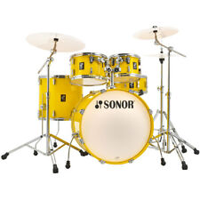 SONOR Aq1 Studio Set Drums/percussion Shell-set Incl Hardware Lite Yellow