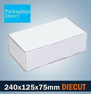 100x Mailing Box 240 x 125 x 75mm Shipping Carton for Small Satchel Bag