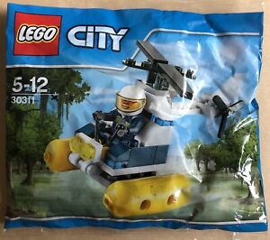 Lego City 30311 Swamp Police Helicopter Polybag New Sealed