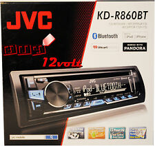 JVC KD-R860BT 1-Din CD Receiver with Bluetooth, Pandora, iHeartRadio & USB