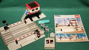 LGO® 12V 7866 elektr. Bahnübergang +OBA - RC Level crossing instr. train rare