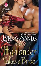 Highlander Takes A Bride Sands  Lynsay 9780062273598