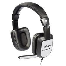 Headset / Kopfhörer ULTRON UHS-400 ELEGANCE Stereo, incl. Mikrofon, Kabel (3m)