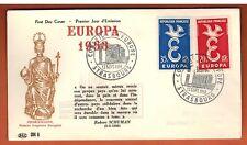 1958 - ENVELOPPE-FDC 1°JOUR!!**Conseil de l'Europe - Europa -TIMBRE Yt.1173/4