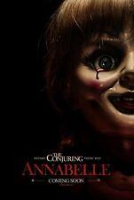 ANNABELLE 2014 Original Promo Mini Movie Poster The Conjuring Prequel Horror