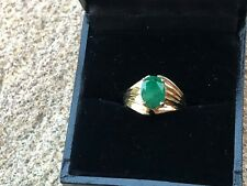 Stunning 14k Ring with 1.26 Carat Emerald.