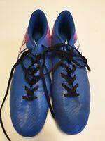 H833 MENS ADIDAS X BLUE PINK LACE UP FOOTBALL BOOTS UK 11 EU 46 US 11.5
