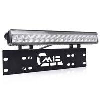 """License Plate Mount Frame Bracket Holder +15"""" 50W 48LED Light Bar 12V Universal"""