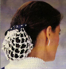 PRETTY Beaded Snood/Apparel/ Crochet Pattern INSTRUCTIONS ONLY