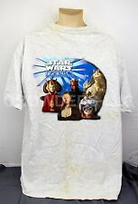Pepsi Star Wars Episode 1 Phantom Menace T-Shirt XL Grey Pre-Shrunk 99% Cotton