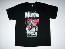 FREE SAME DAY SHIPPING OLD SCHOOL PUNK DISTRESSED MISFITS COFFIN SHIRT XL