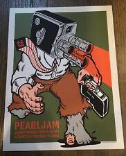 PEARL JAM POSTER 2003 TOUR  AMES BROS SYDNEY AUSTRALIA EDDIE VEDDER