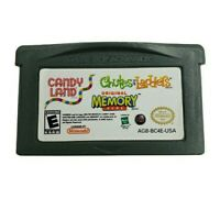 Gameboy Advance Candy Land Chutes & Ladders Memory Game
