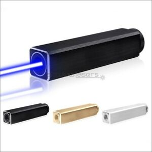 BQ10 Fixed Focus 1MW 450nm Visible Blue Laser Pointer Lasersaber Battery&Charger