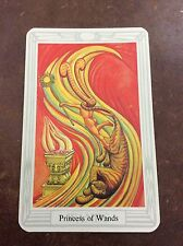 Aleister Crowley Thoth Tarot Small Deck Priestess Of Wands INDIVIDUAL CARD Magik