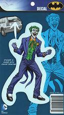 "DC Comics Originals Joker Car Window Sticker Decal Family 5"" Full Color"
