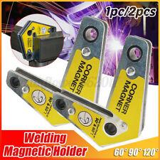 1/2pc 25lbs Angle Arrow Soldering Locator Welding Magnetic Holder Welder Tool AU