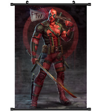 "Hot American Movie Marvel Deadpool Home Decor Poster Wall Scroll 8""x12"" FL969"