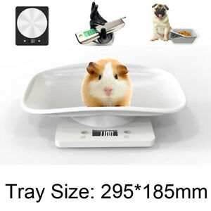 10KG LCD Digital Baby Pet Scale Puppy Dog Cat Weighing Scales Kitchen Food UK *