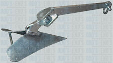 Plow anchor for Boat 200LB Heavy Duty Galvanised 91KG