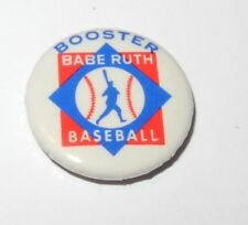 1970 Baseball Pin Coin Support Babe Ruth Little League Booster Pinback