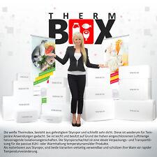 Styroporboxen Auswahl 1 bis 80L Weiß Isolierbox Thermobox Kühlbox Styroporbox