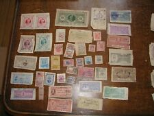 Princely Indian India State Revenue Lot A - 41 Different Stamps - See pics!