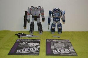 Transformers Siege S12 Megatron & S25 Soundwave