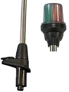 Dreifarbenlaterne Laterne Lampenmast Lichtmast ToplichtBoot