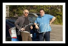 LARRY DAVID & JEFF GARLIN - CURB YOUR ENTHUSIASM SIGNED & FRAMED PP POSTER PHOTO