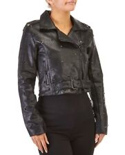 Romeo + Juliet Studded Faux Leather Moto Jacket! Nwt!! Sz. S Msrp. $218.00