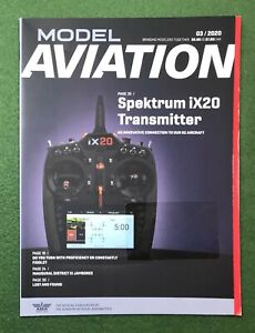 Model Aviation March 2020 hobby magazine flying planes RC airplanes balsa wood