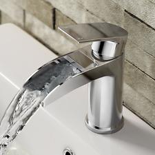Cascada para lavabo fregadero ibathuk | de lujo de cromo baño grifo del Palanca Grifo Mezclador