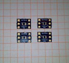 4* SC70 auf DIP DIY Platine PCB vergoldet 4pcs SC70 to DIP PCB gold plated NEW