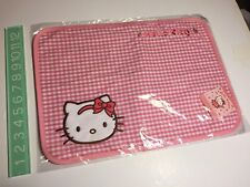 New Vintage Sanrio Original HELLO KITTY 2007 placemat place mat cloth strawberry